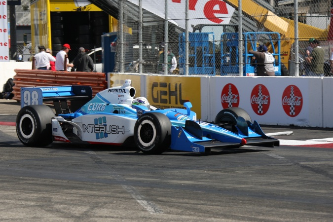Photo: Stanton Barrett - Team 3G - Dallara IR-05 - Honda