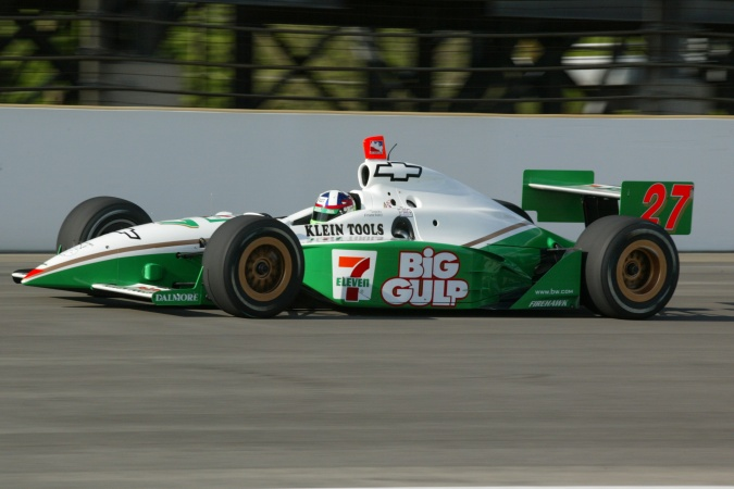 Photo: Dario Franchitti - Team Green - Dallara IR-02 - Chevrolet