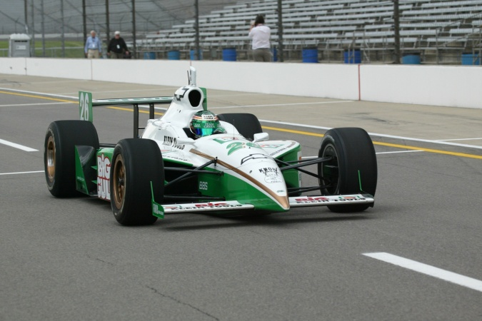 Photo: Paul Tracy - Team Green - Dallara IR-02 - Chevrolet
