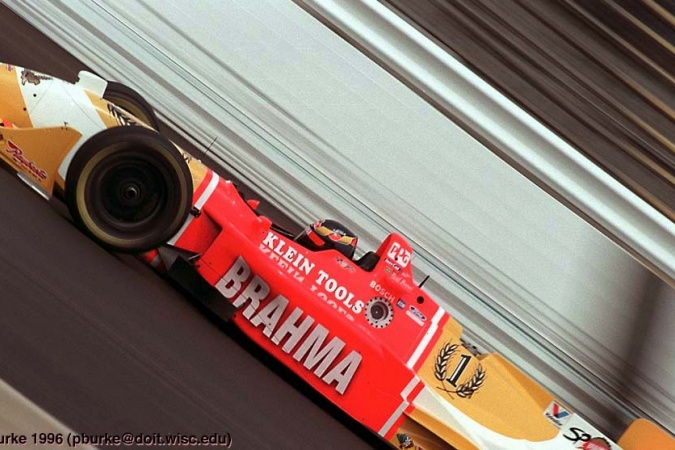 Photo: Raul Boesel - Team Green - Reynard 96i - Honda