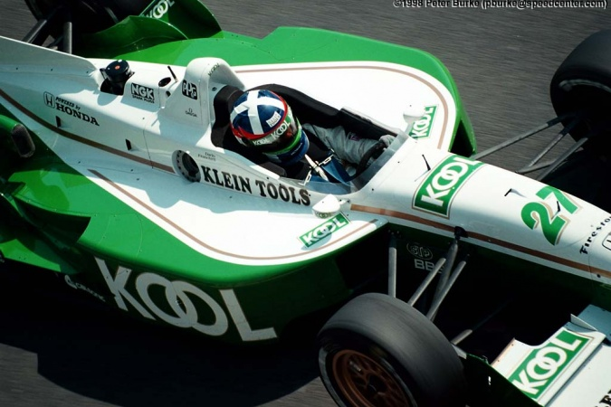 Photo: Dario Franchitti - Team Green - Reynard 98i - Honda