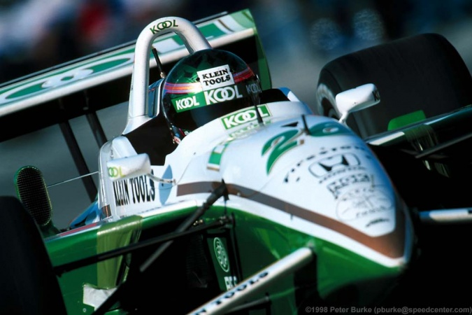 Photo: Paul Tracy - Team Green - Reynard 98i - Honda