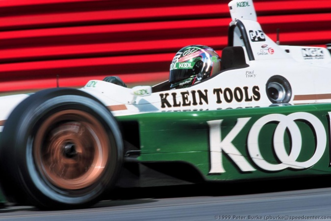 Photo: Paul Tracy - Team Green - Reynard 99i - Honda