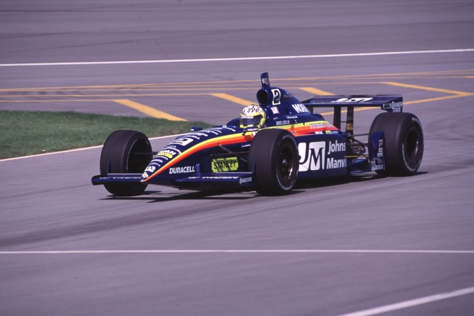 Photo: Jacques Lazier - Team Menard - Dallara IR-01 - Oldsmobile
