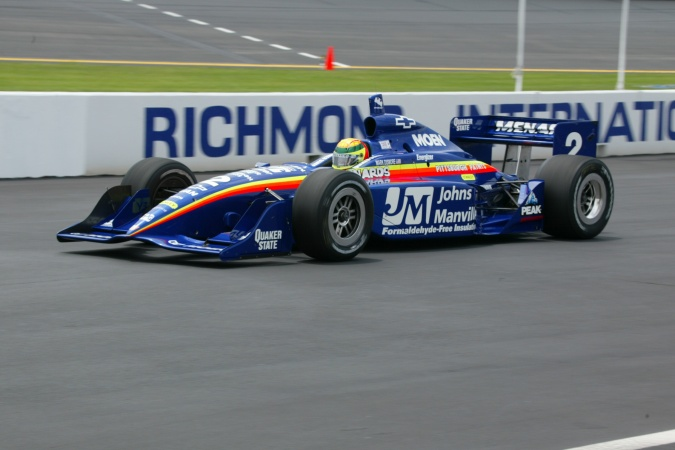 Photo: Mark Dismore - Team Menard - Dallara IR-02 - Chevrolet