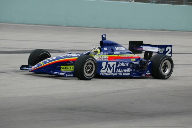 Photo: Jacques Lazier - Team Menard - Dallara IR-02 - Chevrolet