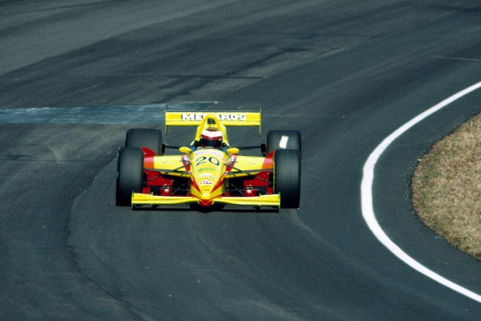 Photo: Tony Stewart - Team Menard - Lola T95/00 - Menard