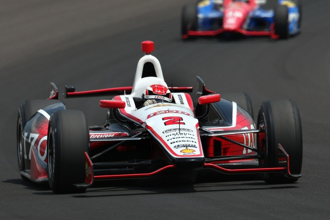 Photo: Ryan Briscoe - Team Penske - Dallara DW12 - Chevrolet