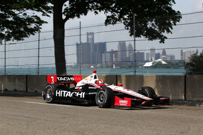 Photo: Helio Castroneves - Team Penske - Dallara DW12 - Chevrolet