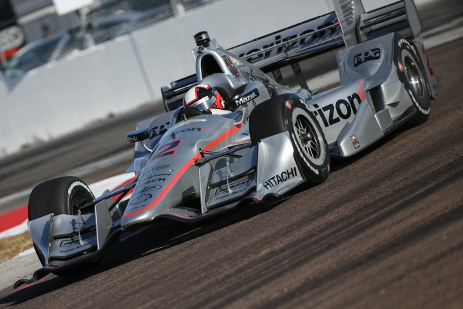 Photo: Juan Pablo Montoya - Team Penske - Dallara DW12 - Chevrolet