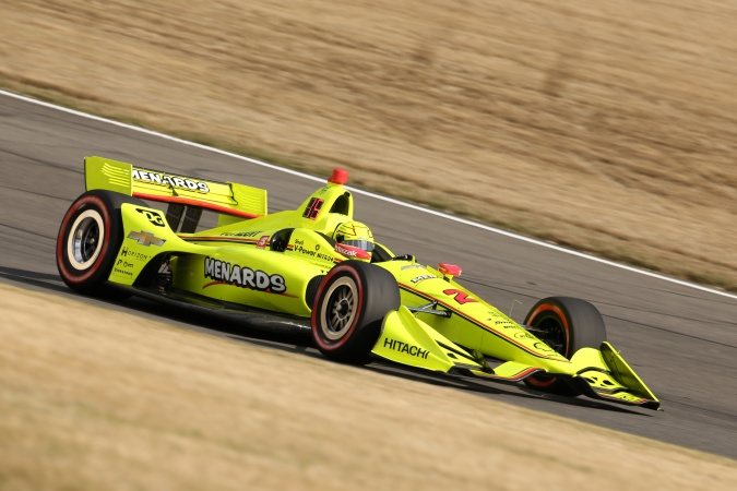 Photo: Simon Pagenaud - Team Penske - Dallara DW12 - Chevrolet