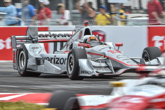 Photo: Oriol Servia - Team Penske - Dallara DW12 - Chevrolet