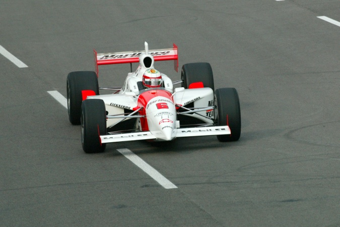 Photo: Massimilano Papis - Team Penske - Dallara IR-02 - Chevrolet