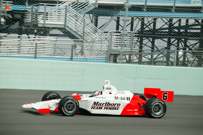 Photo: Sam Hornish - Team Penske - Dallara IR-03 - Toyota