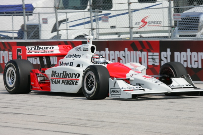 Photo: Sam Hornish - Team Penske - Dallara IR-05 - Toyota