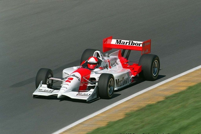 Photo: Al, jr. Unser - Team Penske - Penske PC26 - Mercedes