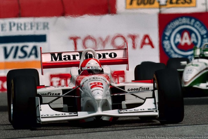 Photo: Al, jr. Unser - Team Penske - Penske PC27 - Mercedes