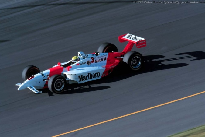 Photo: Alex Barron - Team Penske - Penske PC27B - Mercedes