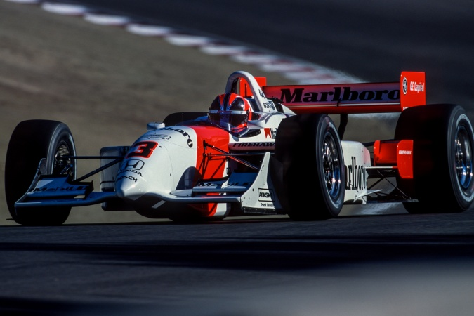 Photo: Helio Castroneves - Team Penske - Reynard 2Ki - Honda