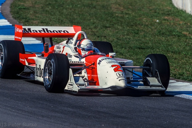 Photo: Gil de Ferran - Team Penske - Reynard 2Ki - Honda