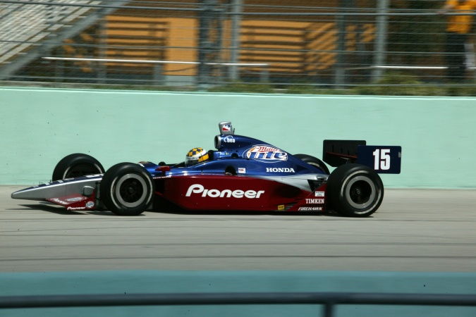 Photo: Kenny Bräck - Team Rahal - Dallara IR-03 - Honda