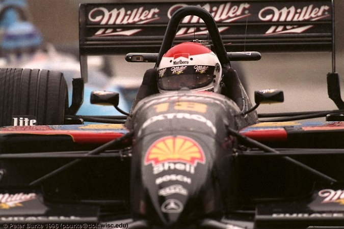 Photo: Bobby Rahal - Team Rahal - Reynard 96i - Mercedes