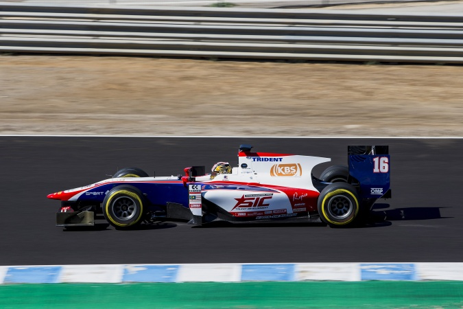 Photo: Nabil Jeffri - Trident Racing - Dallara GP2/11 - Mecachrome