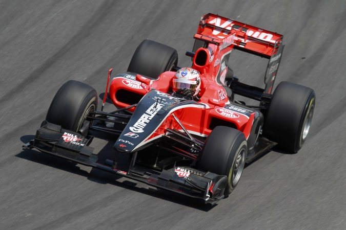 Photo: Timo Glock - Virgin Racing - Virgin VR-01 - Cosworth