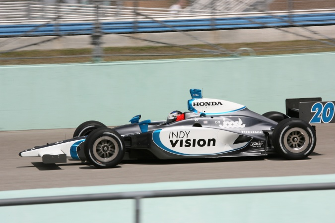 Photo: Ed Carpenter - Vision Racing - Dallara IR-05 - Honda