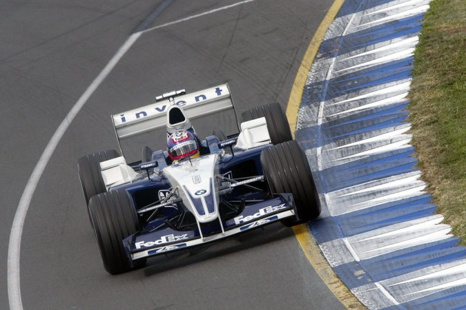 Photo: Juan Pablo Montoya - Williams - Williams FW25 - BMW