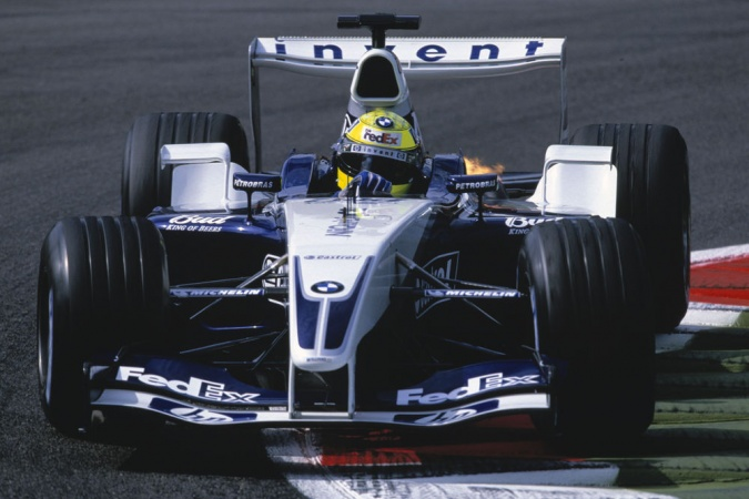 Photo: Ralf Schumacher - Williams - Williams FW25 - BMW