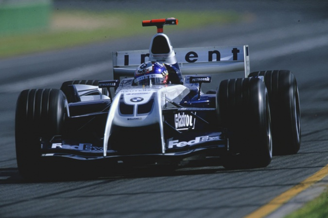 Photo: Juan Pablo Montoya - Williams - Williams FW26 - BMW