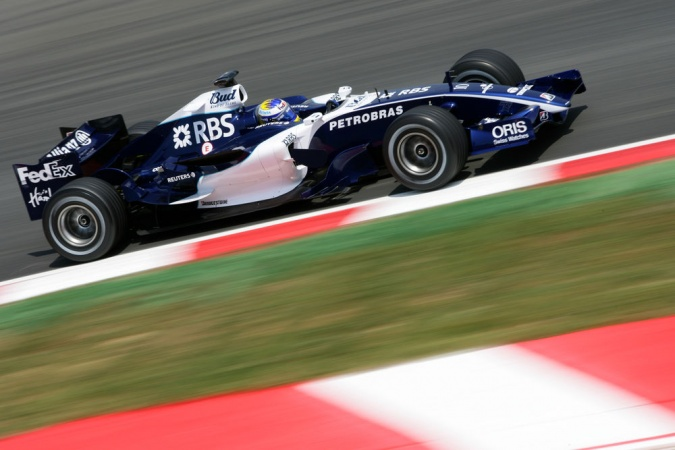 Photo: Nico Rosberg - Williams - Williams FW28 - Cosworth