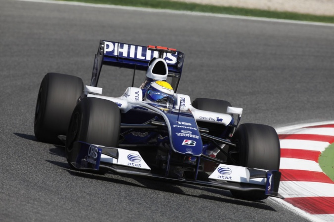 Photo: Nico Rosberg - Williams - Williams FW31 - Toyota