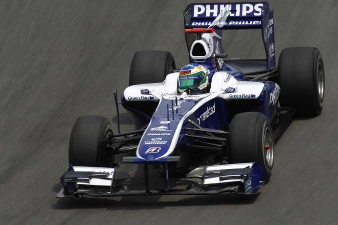 Photo: Rubens Barrichello - Williams - Williams FW32 - Cosworth