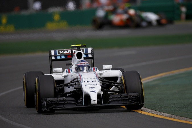 Photo: Valtteri Bottas - Williams - Williams FW36 - Mercedes