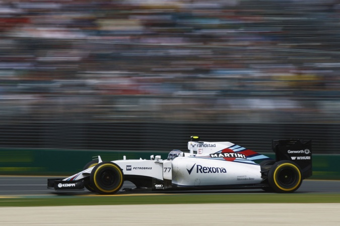 Photo: Valtteri Bottas - Williams - Williams FW37 - Mercedes