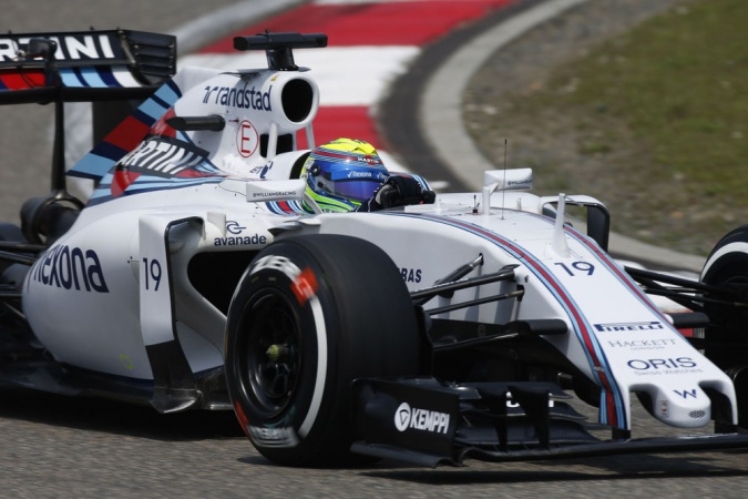 Photo: Felipe Massa - Williams - Williams FW37 - Mercedes