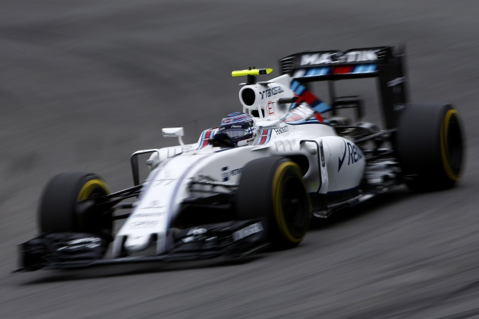 Photo: Valtteri Bottas - Williams - Williams FW38 - Mercedes