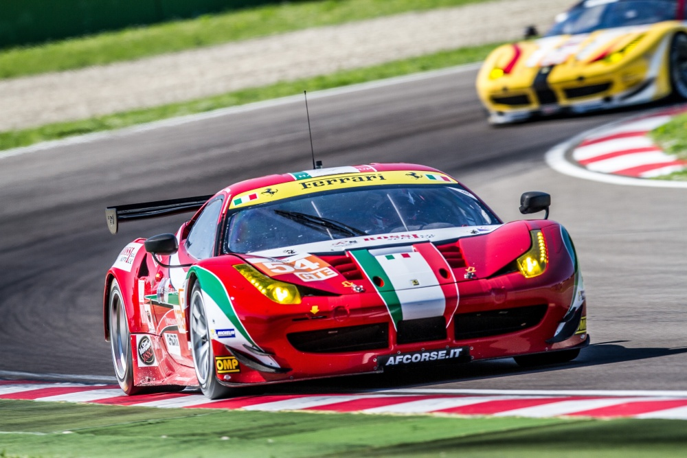 AF Corse Ferrari 458&#39-s Italia in the 6 Hours of Spa