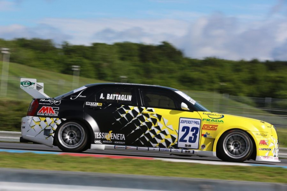 Alessandro Battaglin Bat Racing International Superstars Series