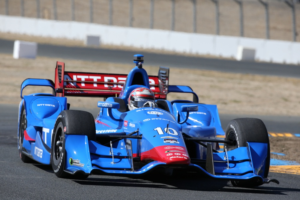 Tony Kanaan - Chip Ganassi Racing - Dallara DW12 - Chevrolet