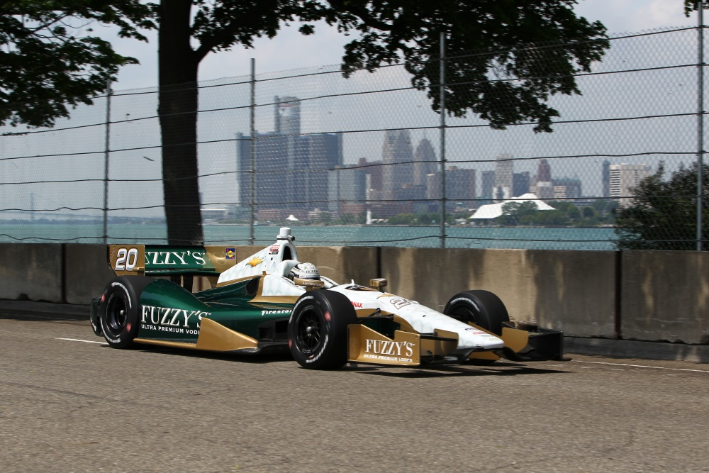 Ed Carpenter - Ed Carpenter Racing - Dallara DW12 - Chevrolet