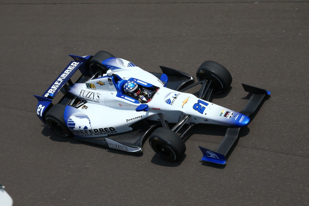 J.R. Hildebrand - Ed Carpenter Racing - Dallara DW12 - Chevrolet