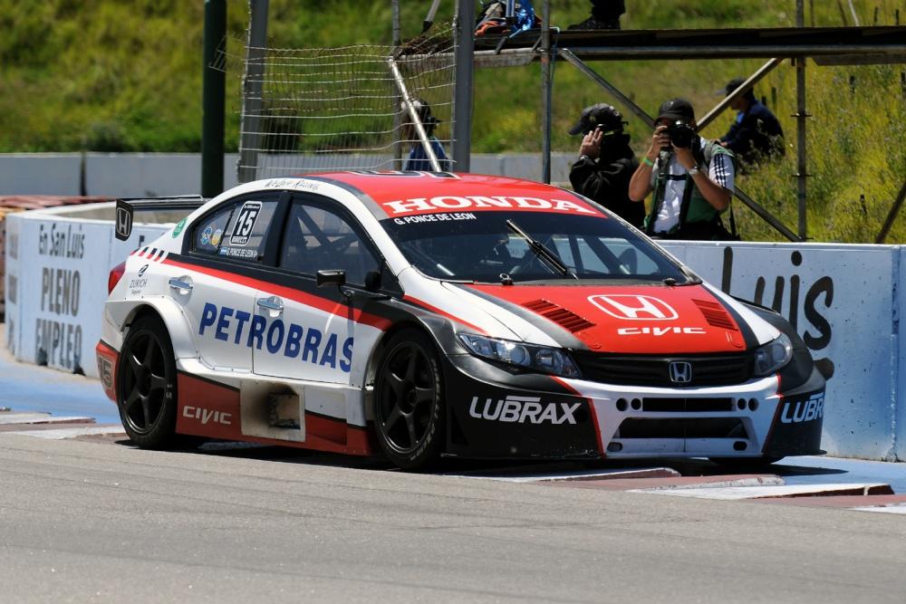 Gabriel ponce de leon sport team argentinian super tc for V8 honda civic