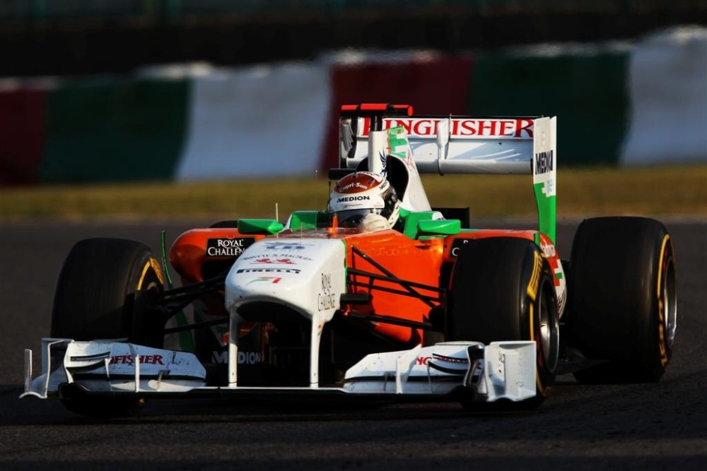 Adrian Sutil - Force India - Force India VJM04 - Mercedes