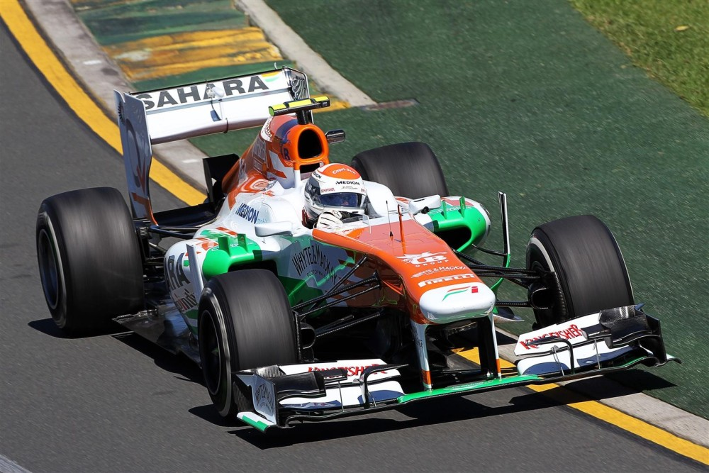 Adrian Sutil - Force India - Force India VJM06 - Mercedes