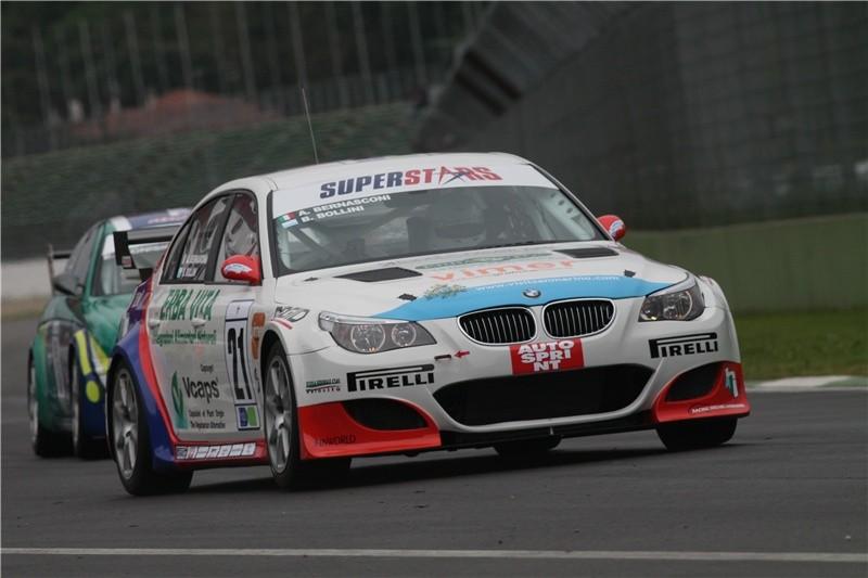 Bruno Bollini Habitat Racing Italian Superstars