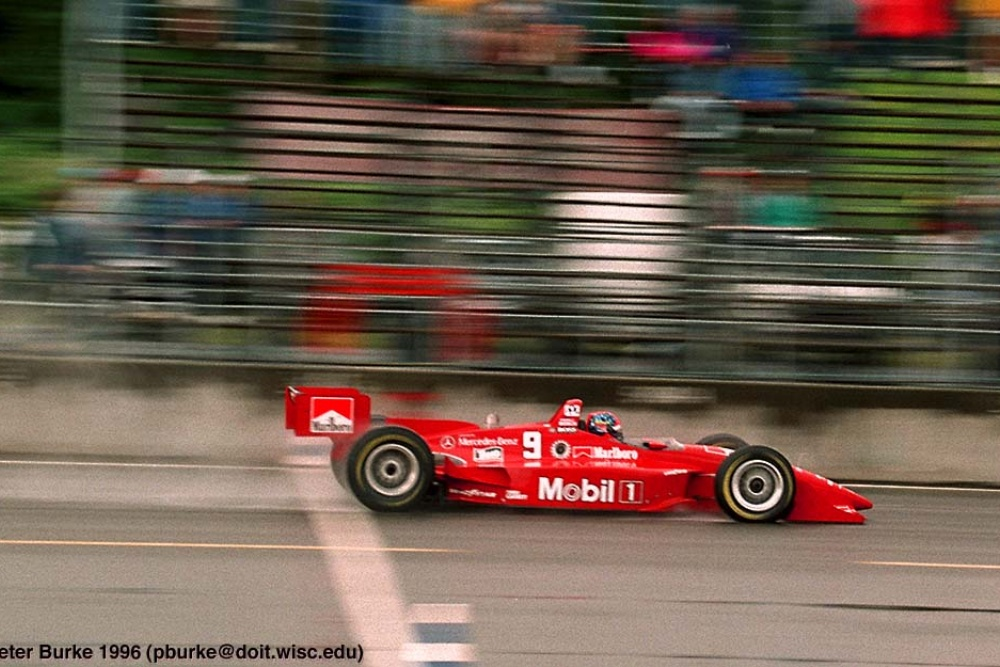 Emerson Fittipaldi - Hogan Racing - Penske PC25 - Mercedes