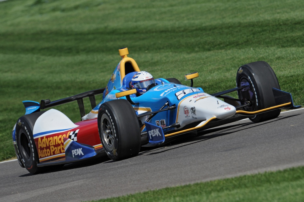 Buddy Lazier - Lazier Partners Racing - Dallara DW12 - Chevrolet